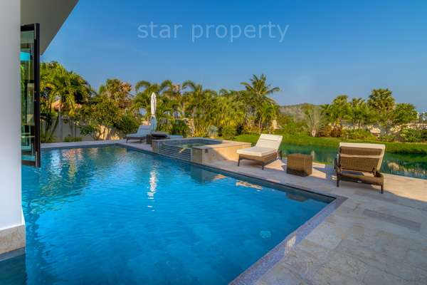 Luxury Bali Pool Villa with amazing qualities throughout.