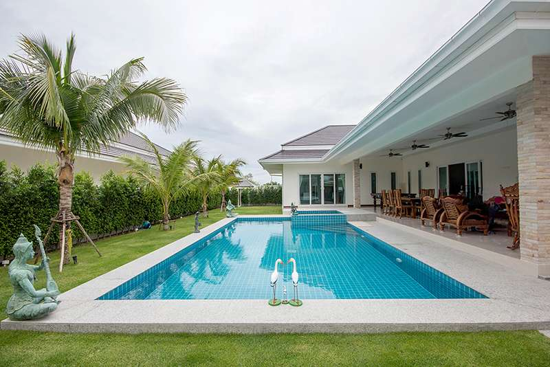 Palm Pool Villa for sale at Hua Hin District, Prachuap Khiri Khan, Thailand