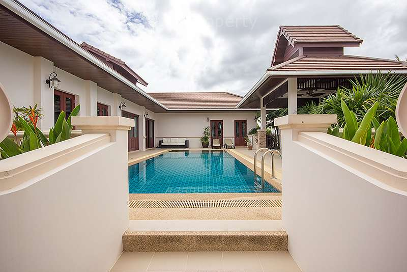Beautiful Villa with Lovely Pool for sale at Hua Hin District, Prachuap Khiri Khan, Thailand