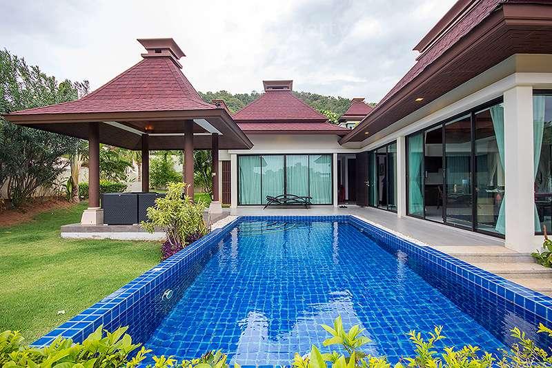 Panorama Pool Villa for sale at Hua Hin District, Prachuap Khiri Khan, Thailand
