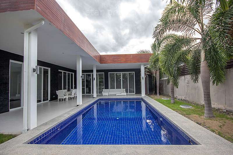Greenscape Villa for sale  near Banyan Golf Course at Hua Hin District, Prachuap Khiri Khan, Thailand