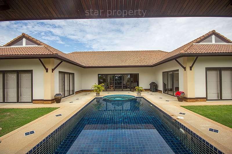 Luxurious Pool Villa For Sale  Soi 6 at Hua Hin District, Prachuap Khiri Khan, Thailand