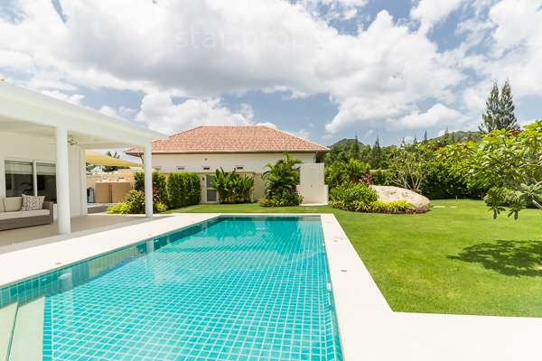 Great Quality 4 Bedroom Pool Villa for sale at The view by Orchid palm home