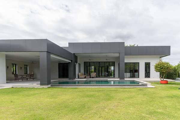 Stunning 4 Bedroom Pool Villa in a Luxury Private Estate for sale at Baan Ing Phu