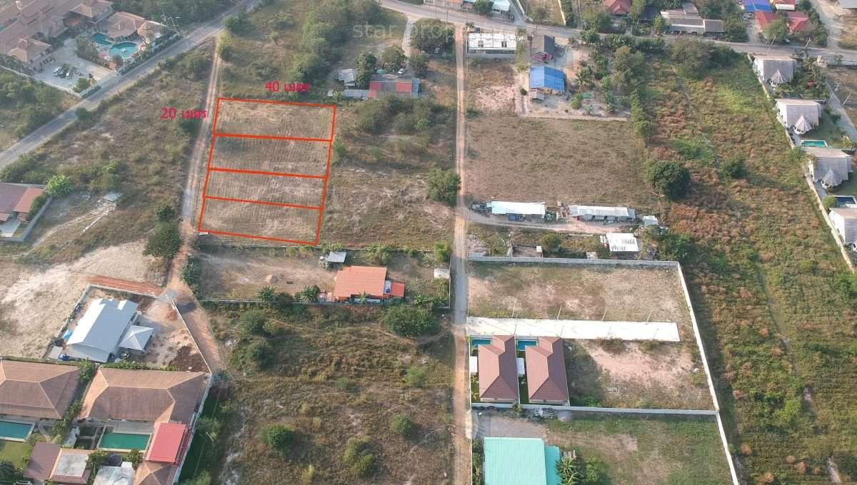 Land area 2 Ngan (800 sq.m.)