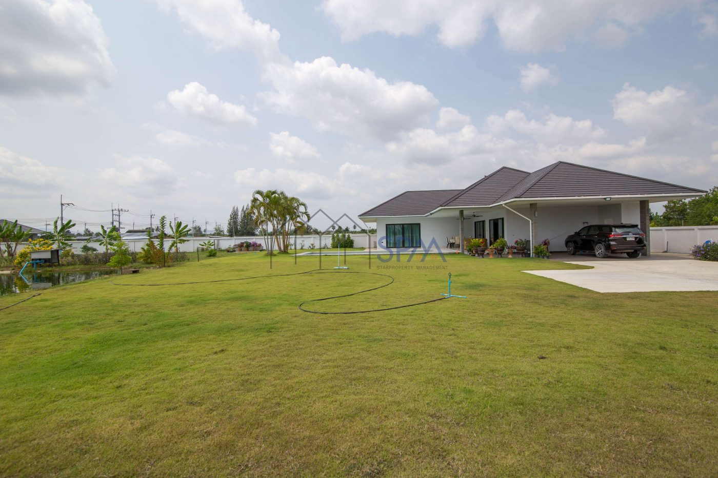 Fully Furnished Pool Villa 2 Rai of Land for sale at Hua Hin Soi 112