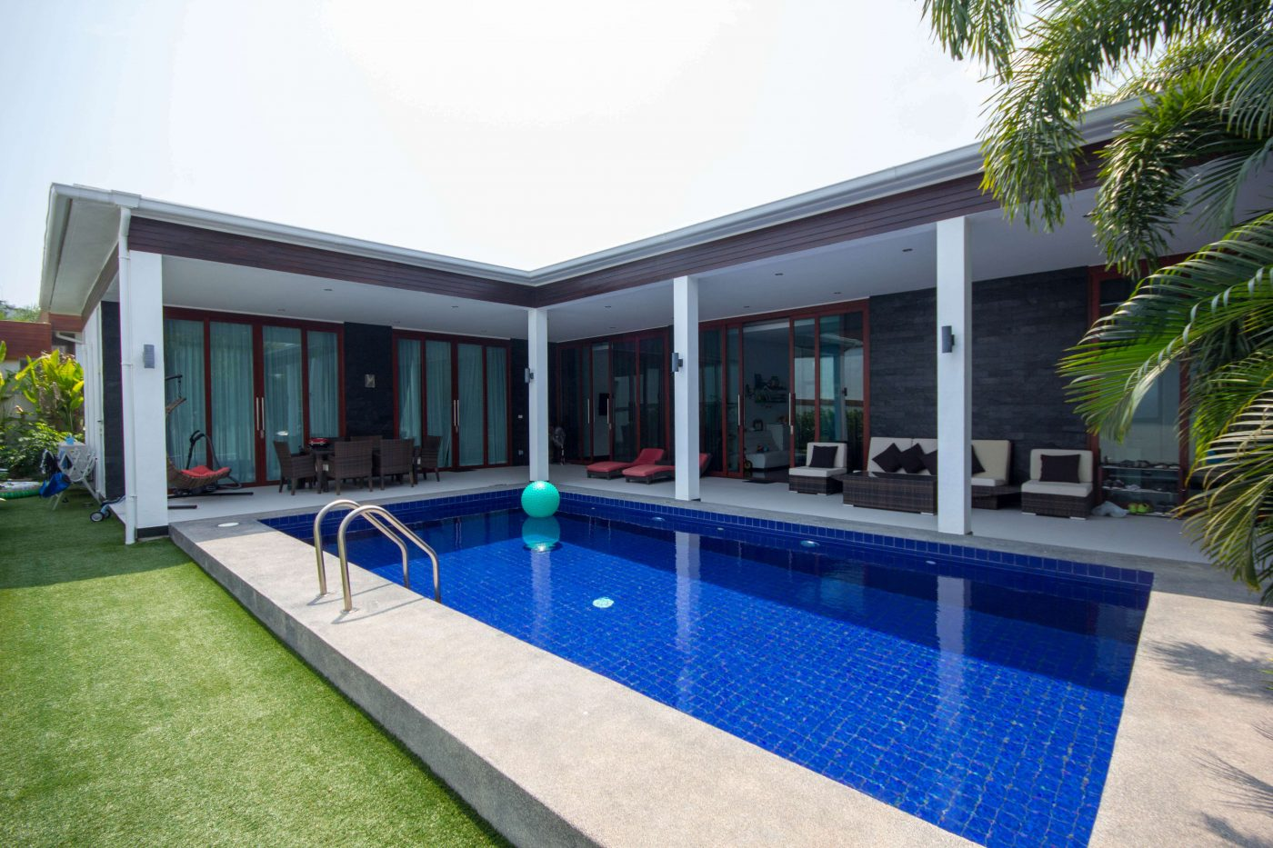 Modern Bungalow with Private Pool for sale at Hua Hin District, Prachuap Khiri Khan, Thailand