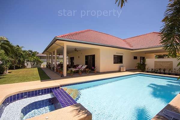 Luxury Pool Villa for Sale Soi 6 at Hua Hin District, Prachuap Khiri Khan, Thailand