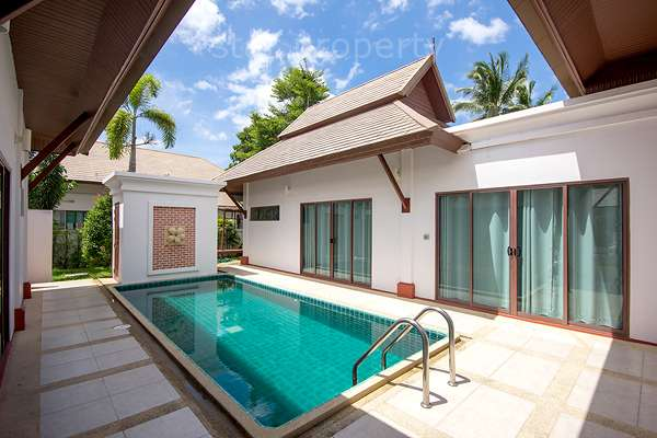 3 bed room pool villa for sale