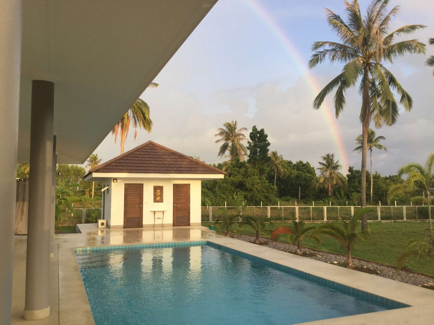 luxury pool villa for sale sam roi yot