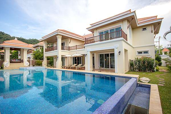 Prestigious Pool Villas for Sale at Hua Hin District, Prachuap Khiri Khan, Thailand