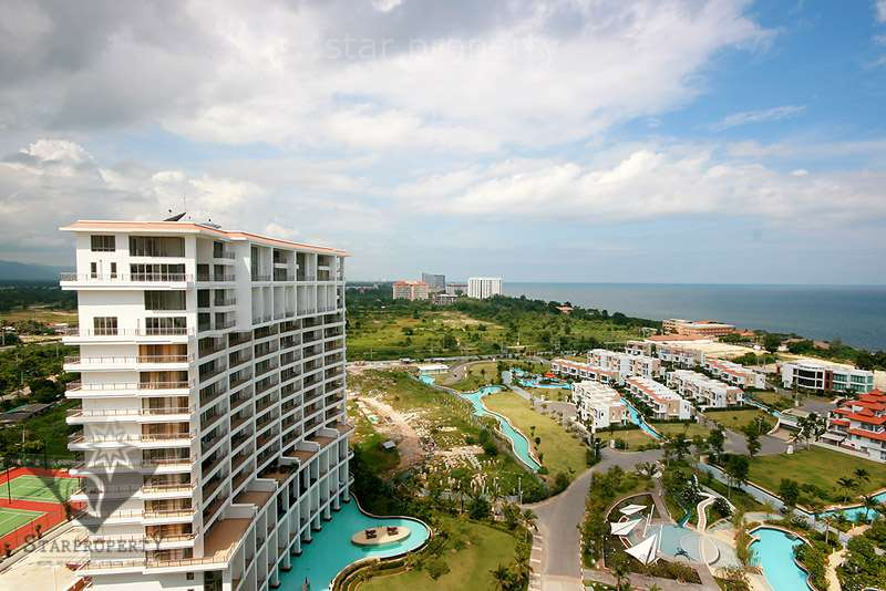 Large 3 Bedroom Condo with Sea View for Sale at Boathouse Hua Hin