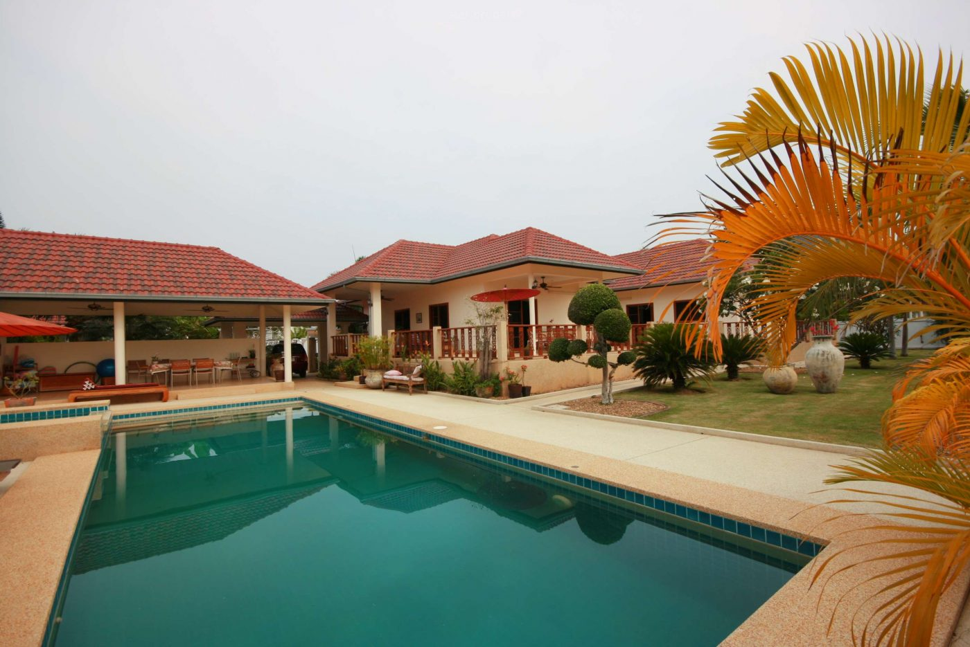 Luxury Pool Villa With Large Plot Of Land for sale at Hua Hin District, Prachuap Khiri Khan, Thailand