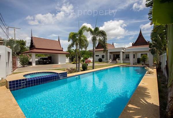 Stunning Property Near Black Mountain Golf Course for sale at Hua Hin District, Prachuap Khiri Khan, Thailand