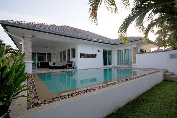 Cheap pool villa for sale