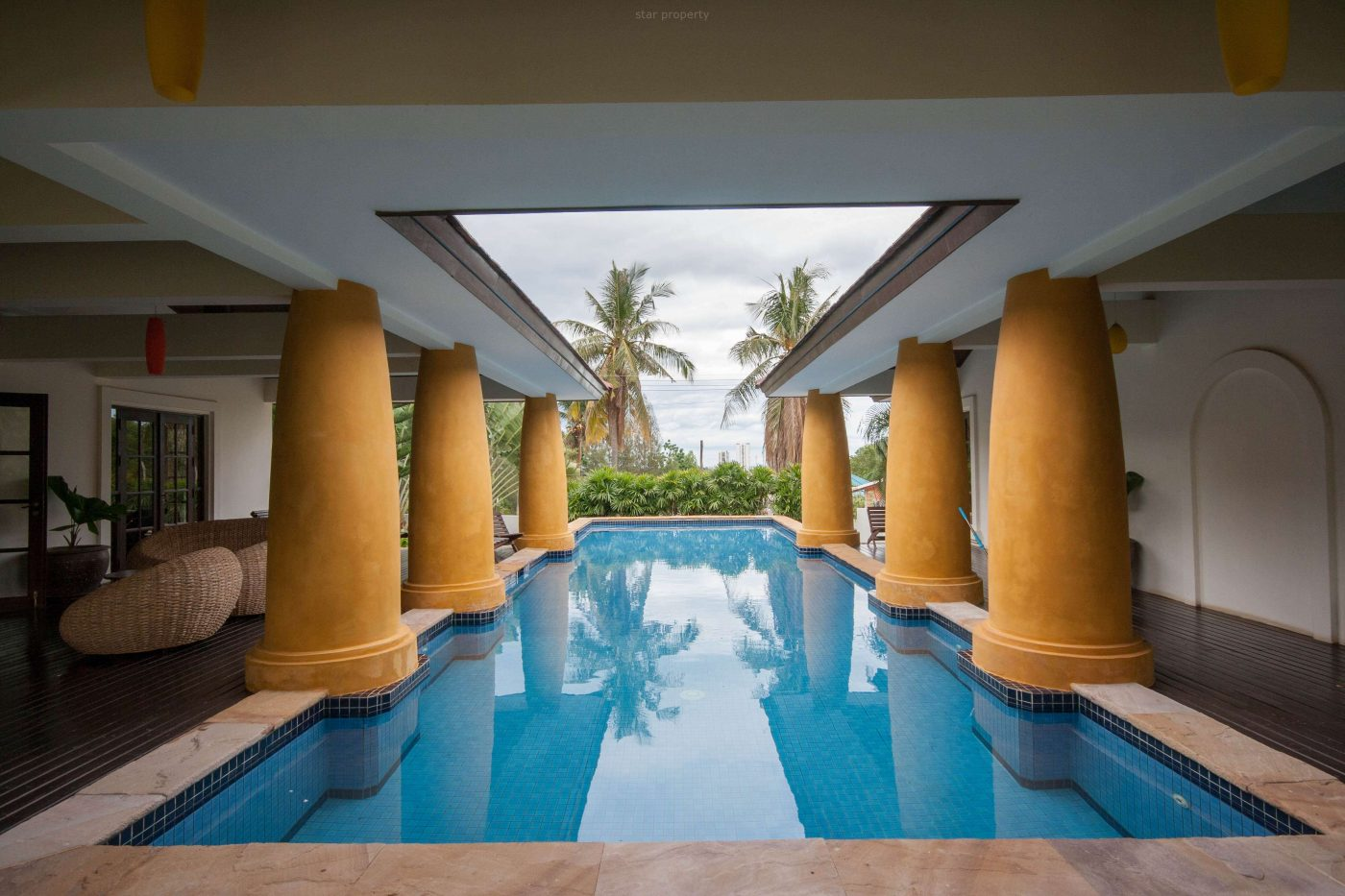 beautiful pool villa for sale soi 116 hua hin
