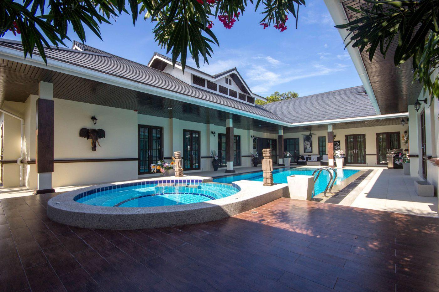 Thai Bali Villa On Palm Hills Golf Course for sale at Hua Hin District, Prachuap Khiri Khan, Thailand