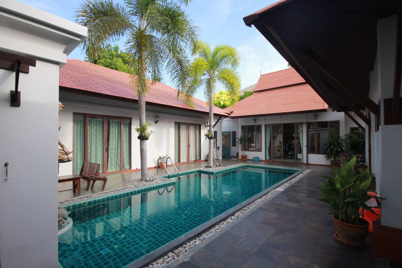 Bali Style 5 Bed Pool Villa for Sale at Lavallee Light, Soi 70