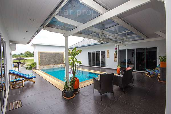Natural Hills Phase II Villa for Sale at Hua Hin District, Prachuap Khiri Khan, Thailand