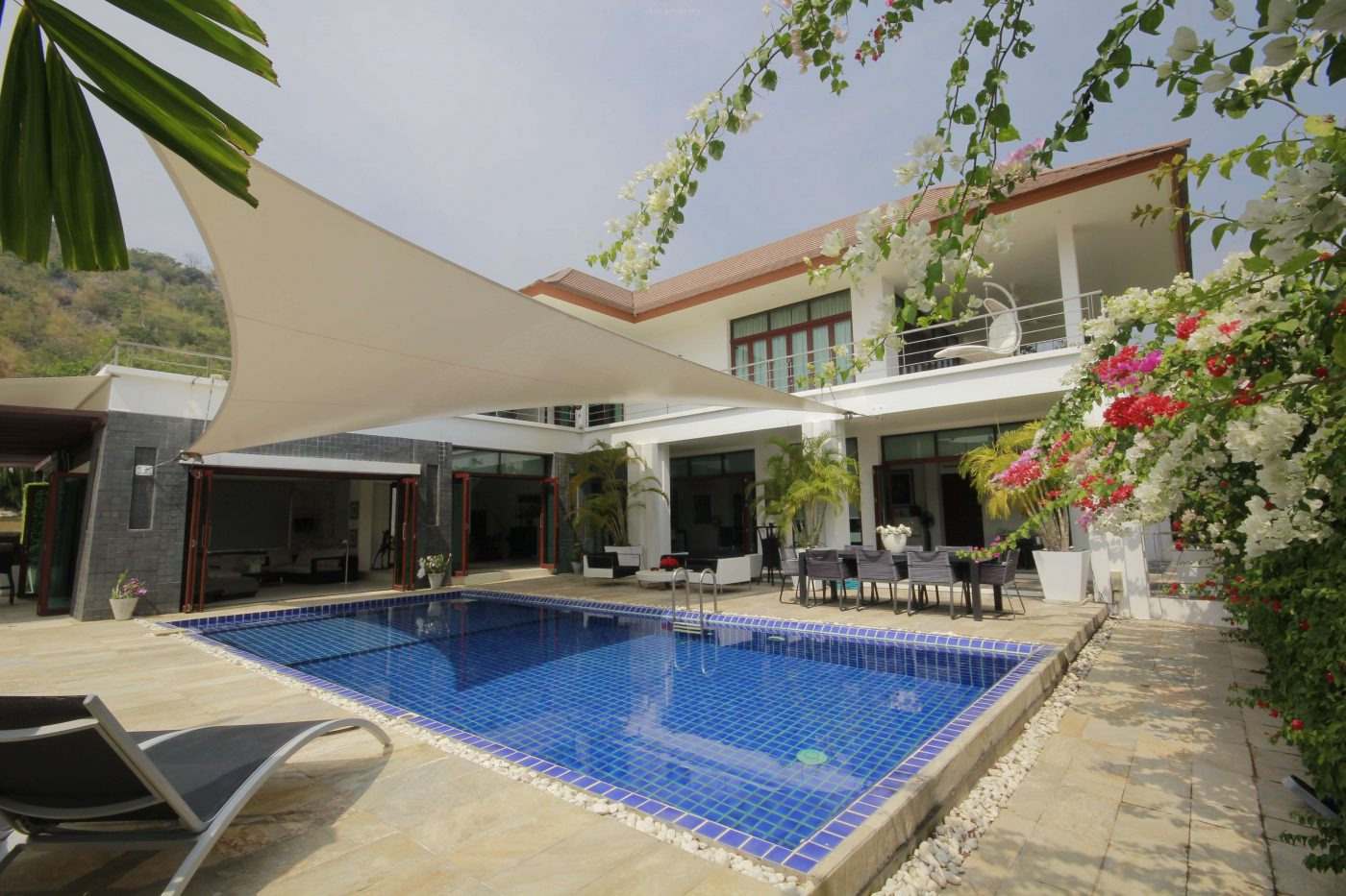 3 Bed Pool Villa with Mountain View at Phu Montra