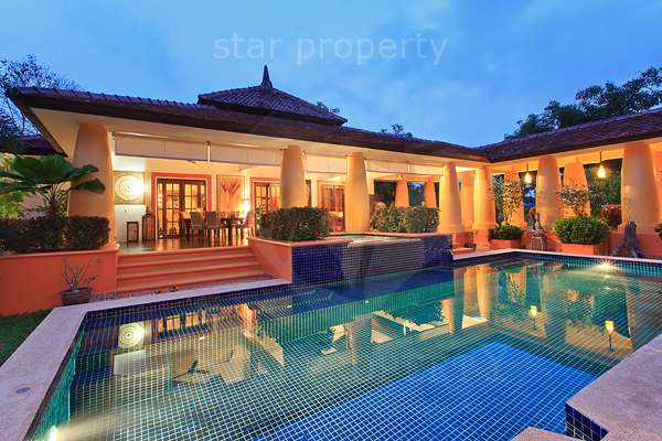 Balinese Style 4 Bedroom Pool Villa at Hunsa, soi 116