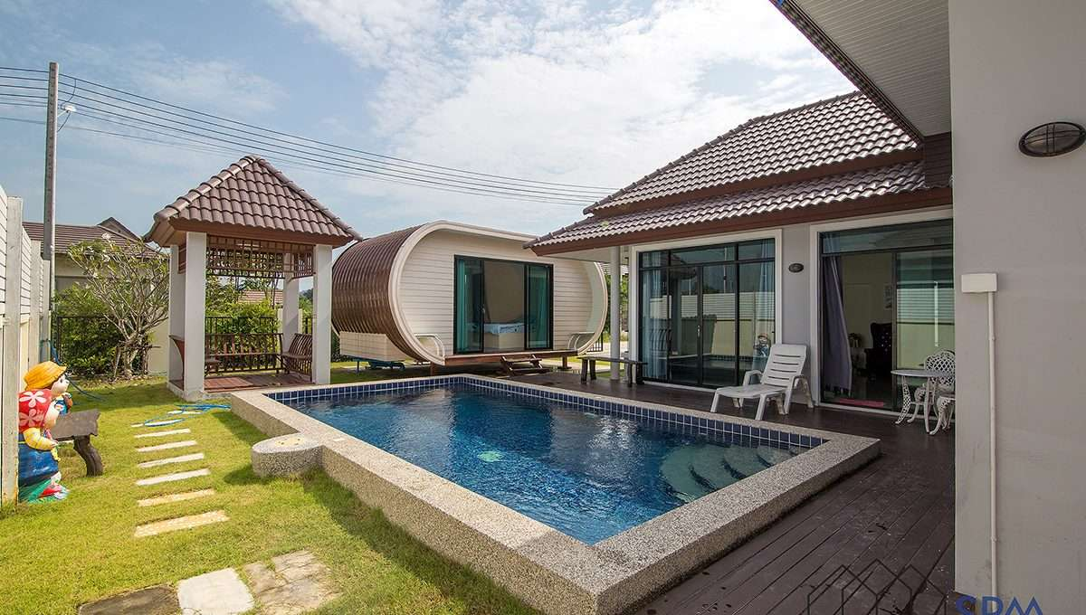 cheap price pool villa for sale