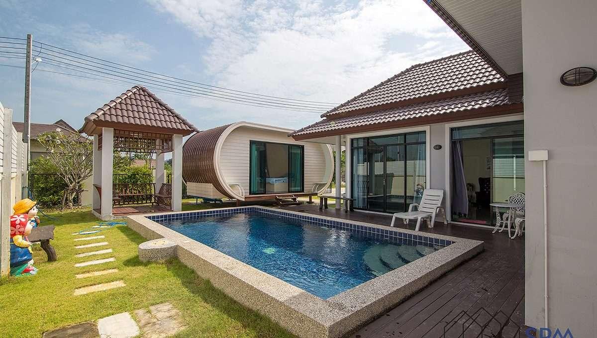cheap price pool villa for sale