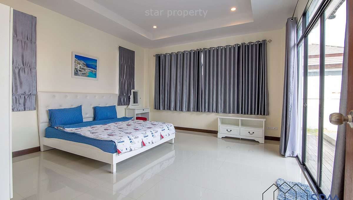 hua hin 3 bedroom house with pool