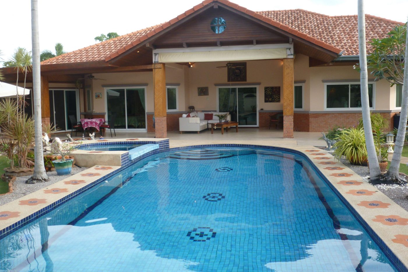 Beautiful Pool Villa at Pranburi for Sale at Paknampran-Pranburi
