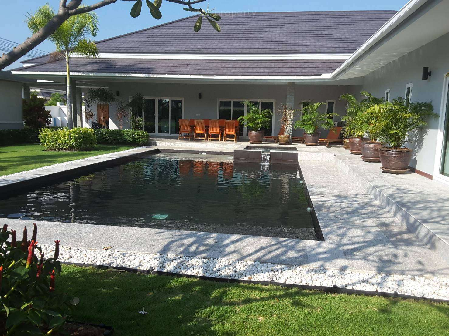 Palm Pool Villas Villa for sale at Hua Hin District, Prachuap Khiri Khan, Thailand
