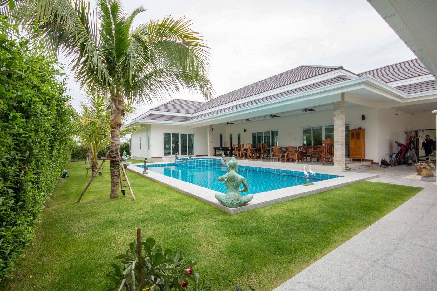 4 Bedroom Pool Villa For Sale at Orchid Villas Soi 114 at Hua Hin District, Prachuap Khiri Khan, Thailand