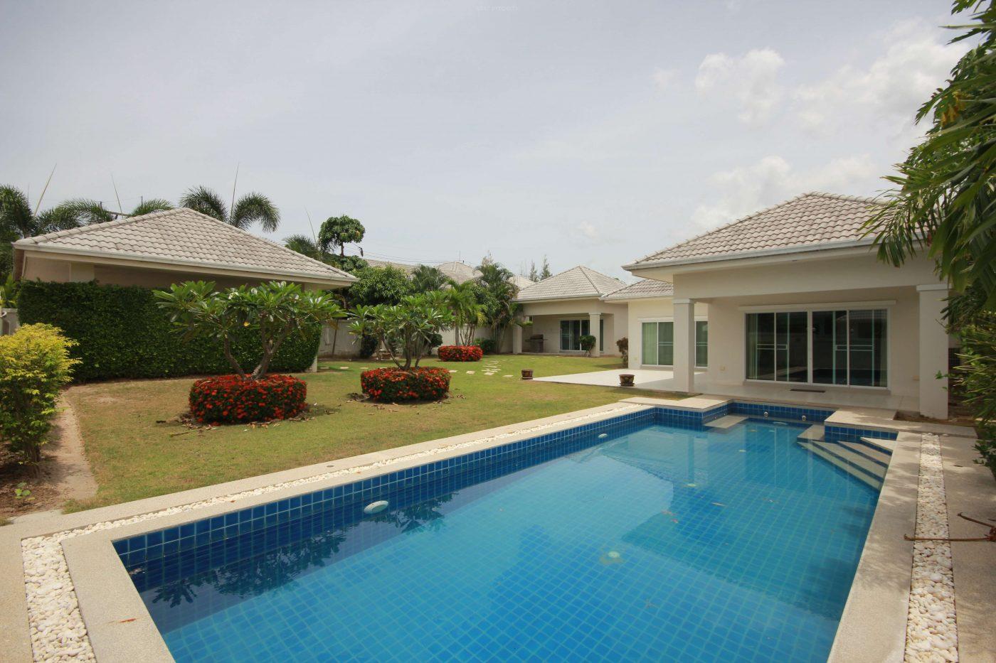 Beautiful Pool Villa for Sale at Gold Soi 88 at Hua Hin District, Prachuap Khiri Khan, Thailand