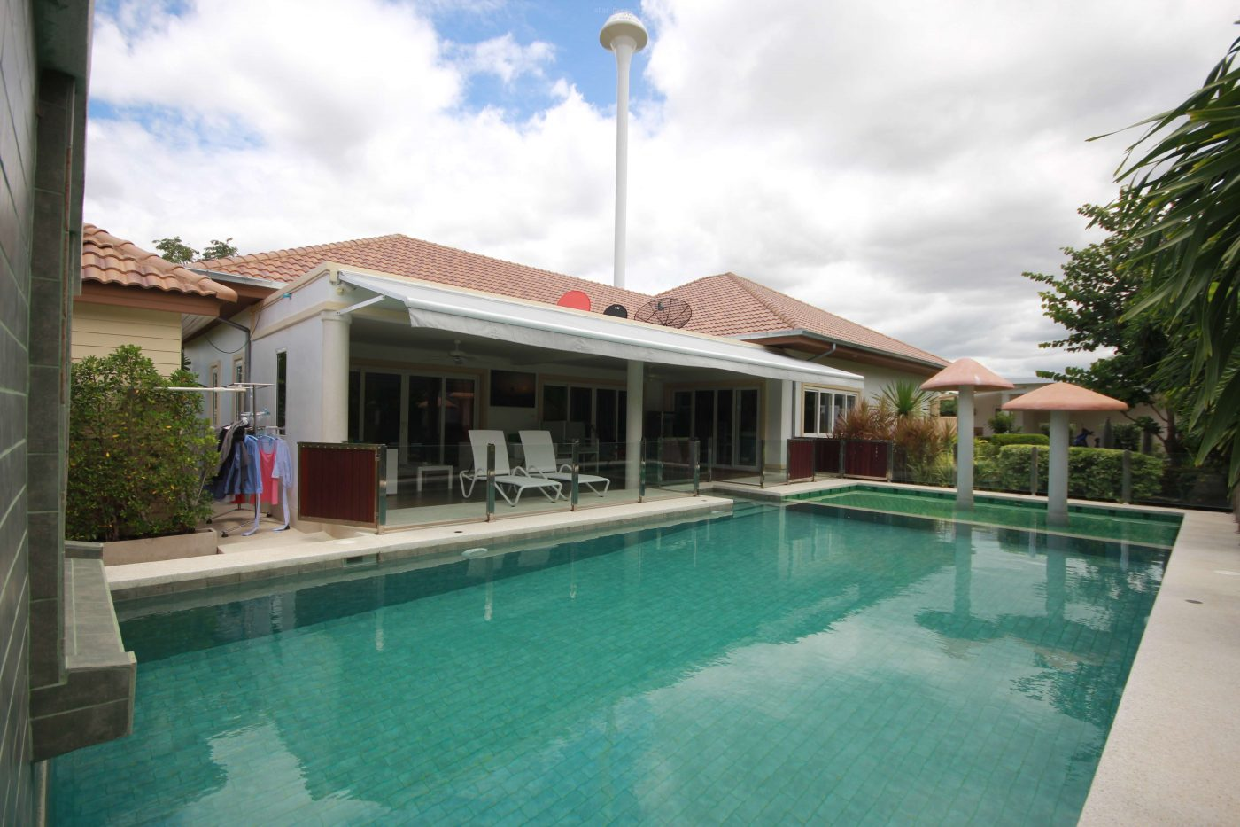Beautiful Pool Villa for Sale near Banyan Golf Course at Hua Hin District, Prachuap Khiri Khan, Thailand