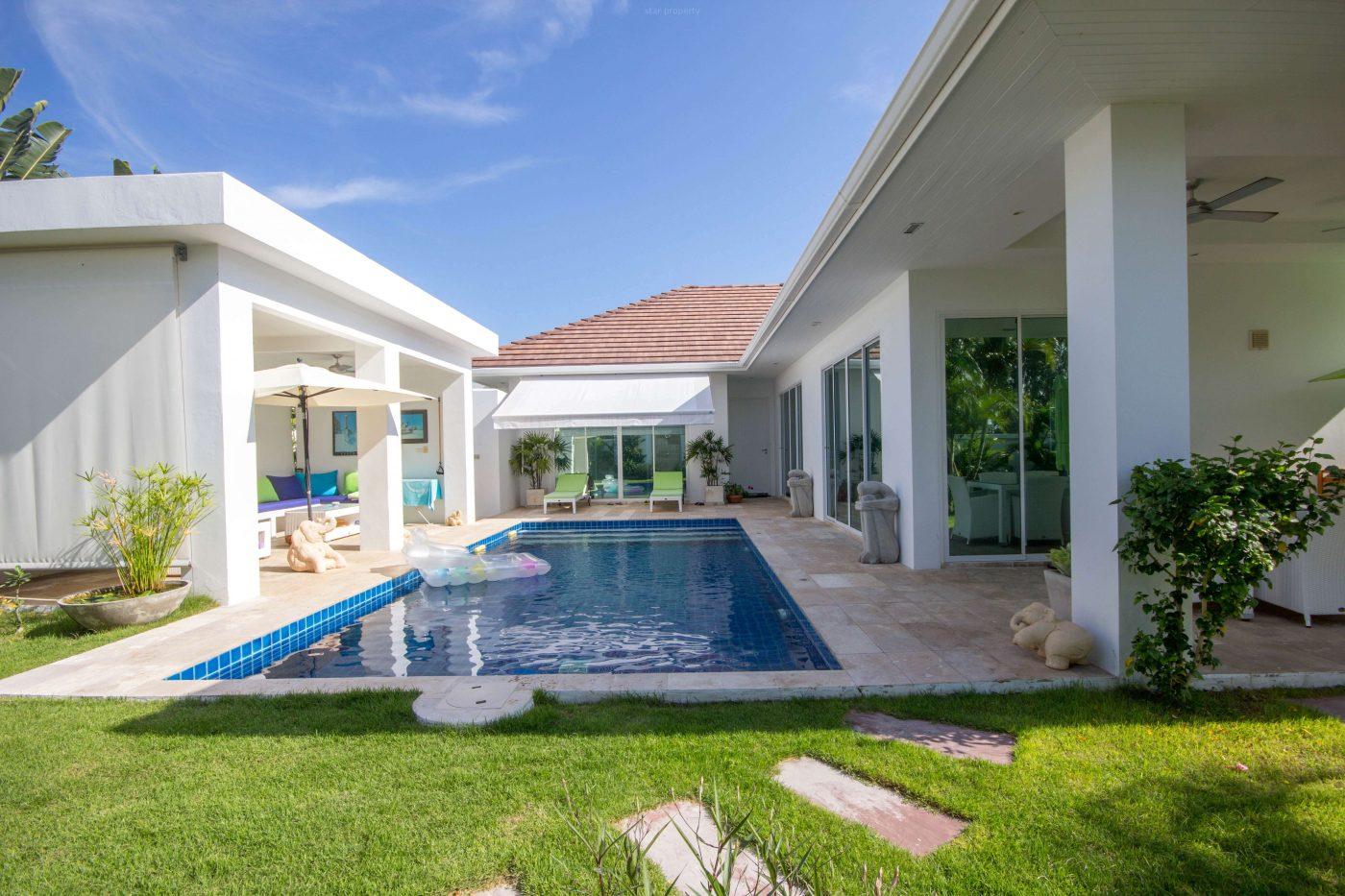 Beautiful Modern Pool Villa for Sale Soi 88 at Hua Hin District, Prachuap Khiri Khan, Thailand