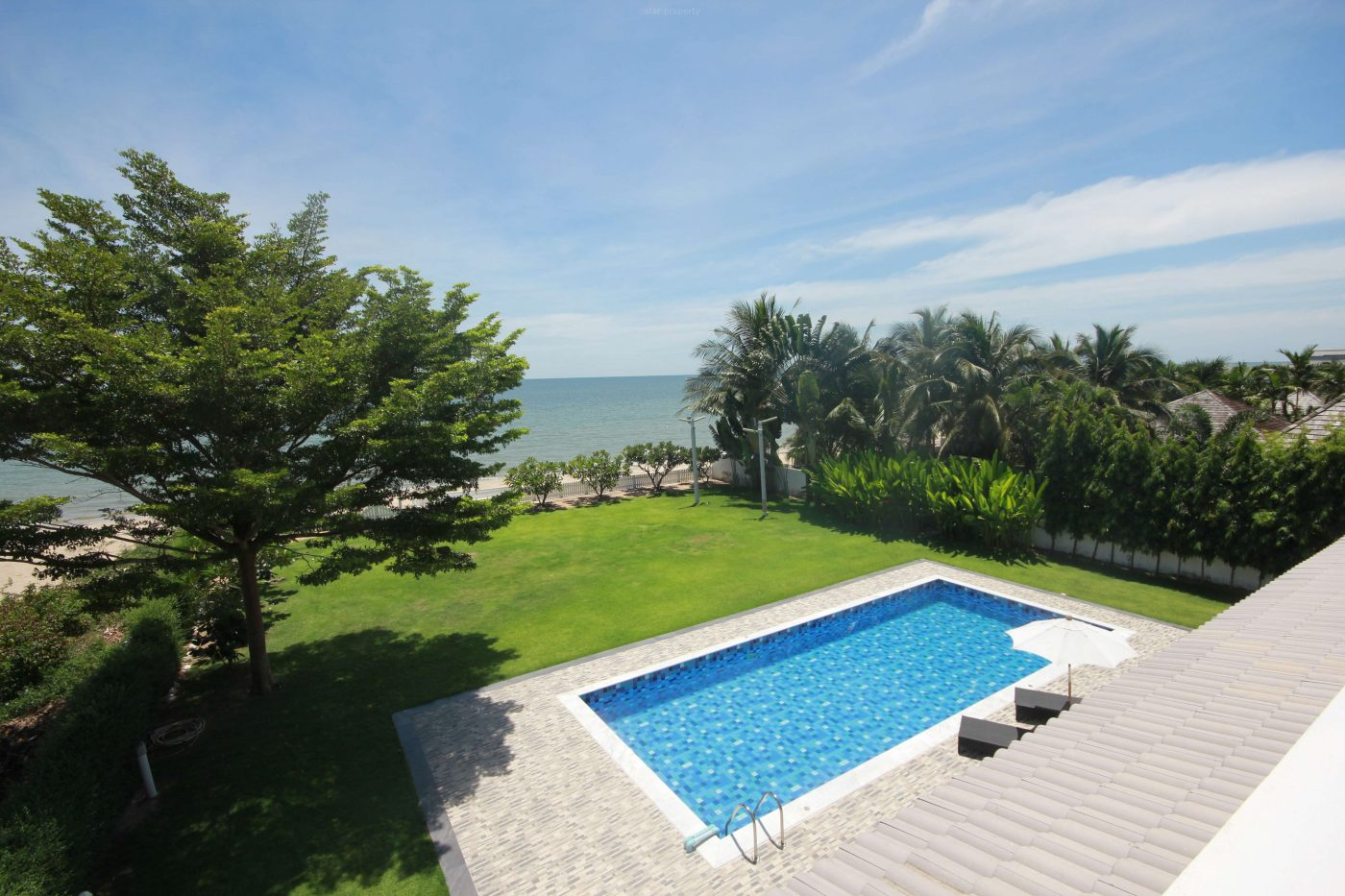 House On The Beach for Sale at Cha Am at Hua Hin District, Prachuap Khiri Khan, Thailand
