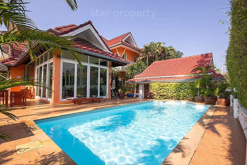 Luxury House with Private Swimming Pool for sale at Hua Hin District, Prachuap Khiri Khan, Thailand