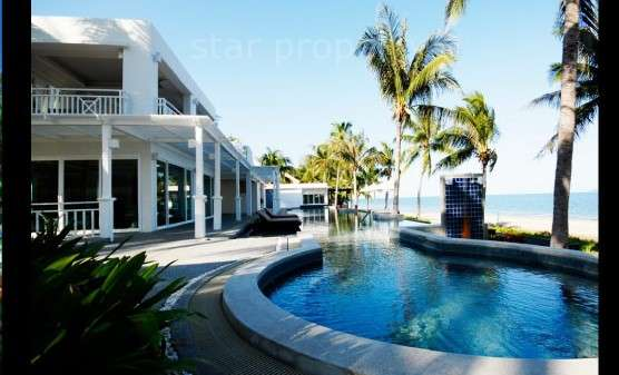Located on the pristine beach of Huay Yang