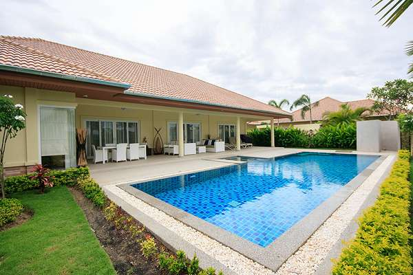 Large Cover Area with pool view