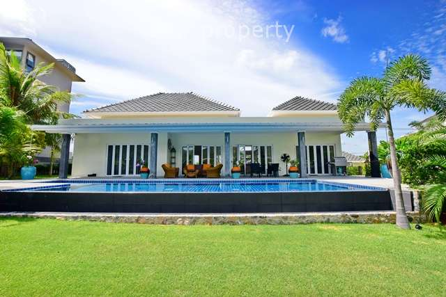 3 Bedroom Golf Course Side Villa for Sale at Black Mountain Hua Hin at Hua Hin District, Prachuap Khiri Khan, Thailand