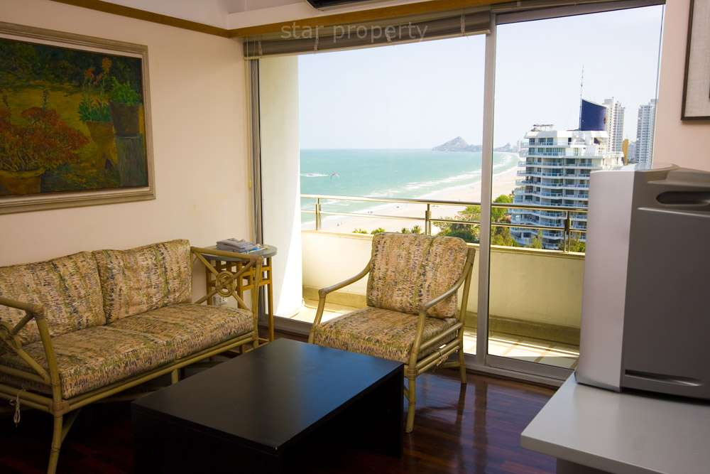 One Bedroom with Great Sea View for Rent at Baan Had