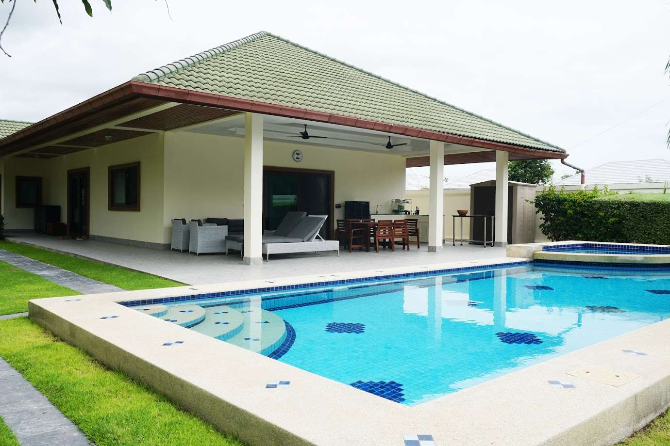 3 Bedroom Pool Villa in Coconut Garden at Hua Hin District, Prachuap Khiri Khan, Thailand