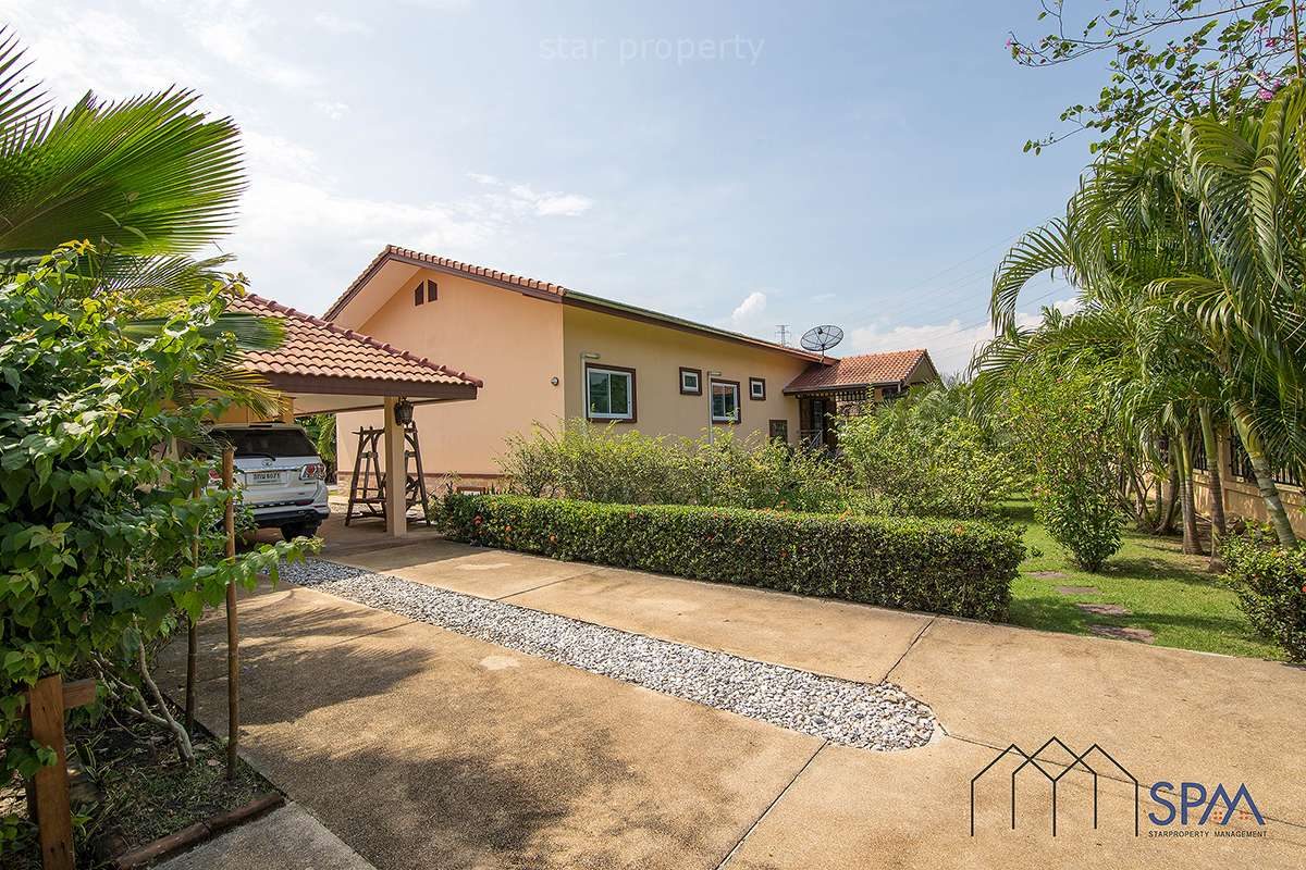 3 Bedroom Villa with Large Plot of Land at Hua Hin District, Prachuap Khiri Khan, Thailand