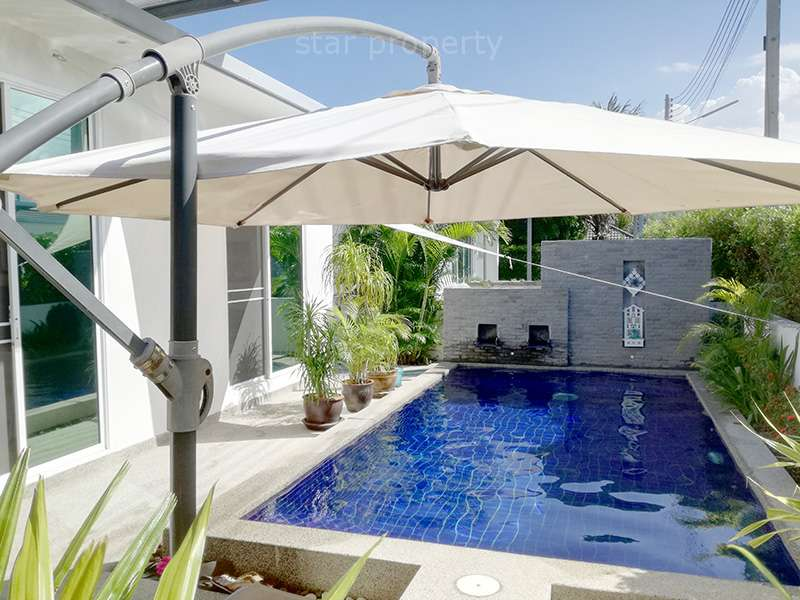 Modern Style Pool Villa for Sale in Hua Hin Soi 102 at Mil Pool Villas