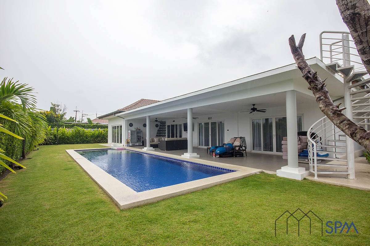 Beautiful Detached Luxury Pool House at Mali Hua Hin Soi 112 at Mali