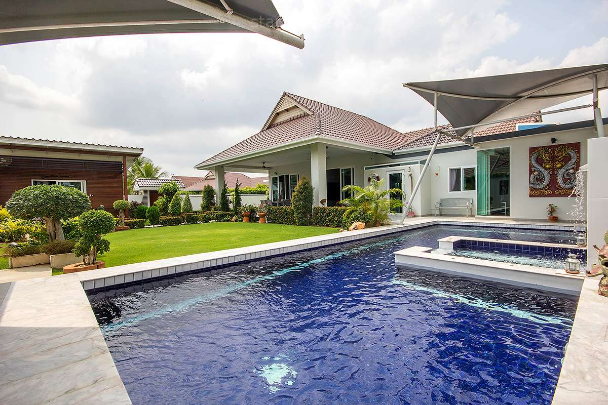Stunning 4 Bedroom Pool Villa for Sale in Smart House Village Hua Hin Soi 88 at Hua Hin Soi 88