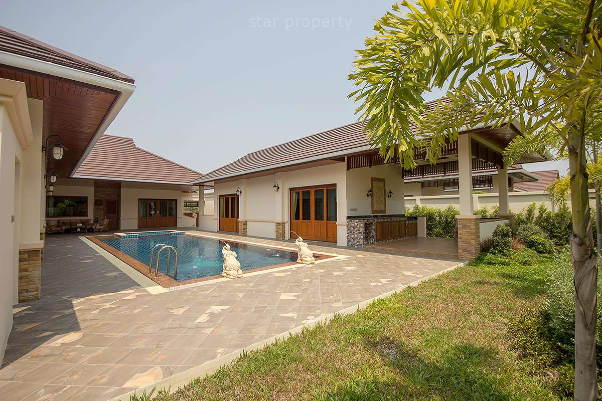 Stunning 4 Bedroom Pool Villa for Sale in Hillside Hamlet 3 Soi 88 at Hua Hin Soi 88