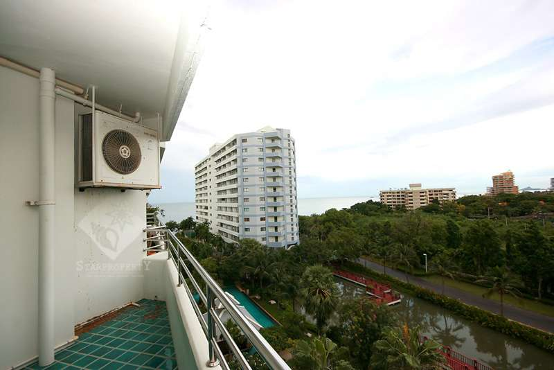 Studio Condominium with Sea View For Rent at Palm Pavilion