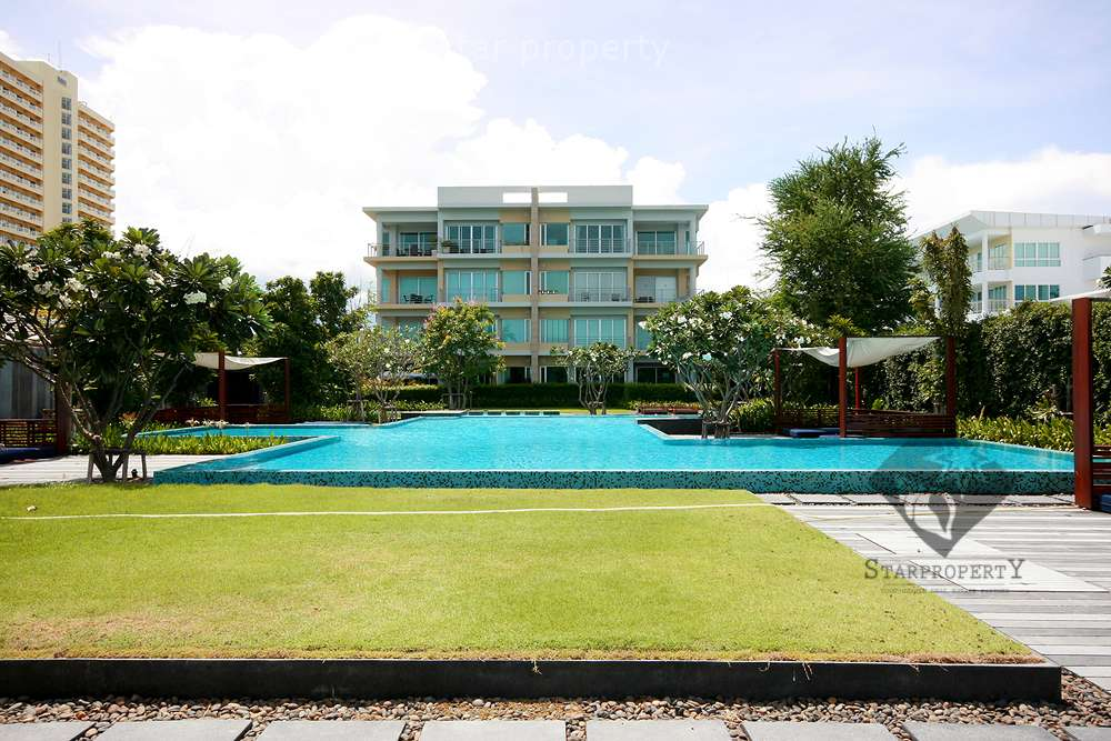 Beautiful Condo at the Beach for Rent at Baan Sanploen