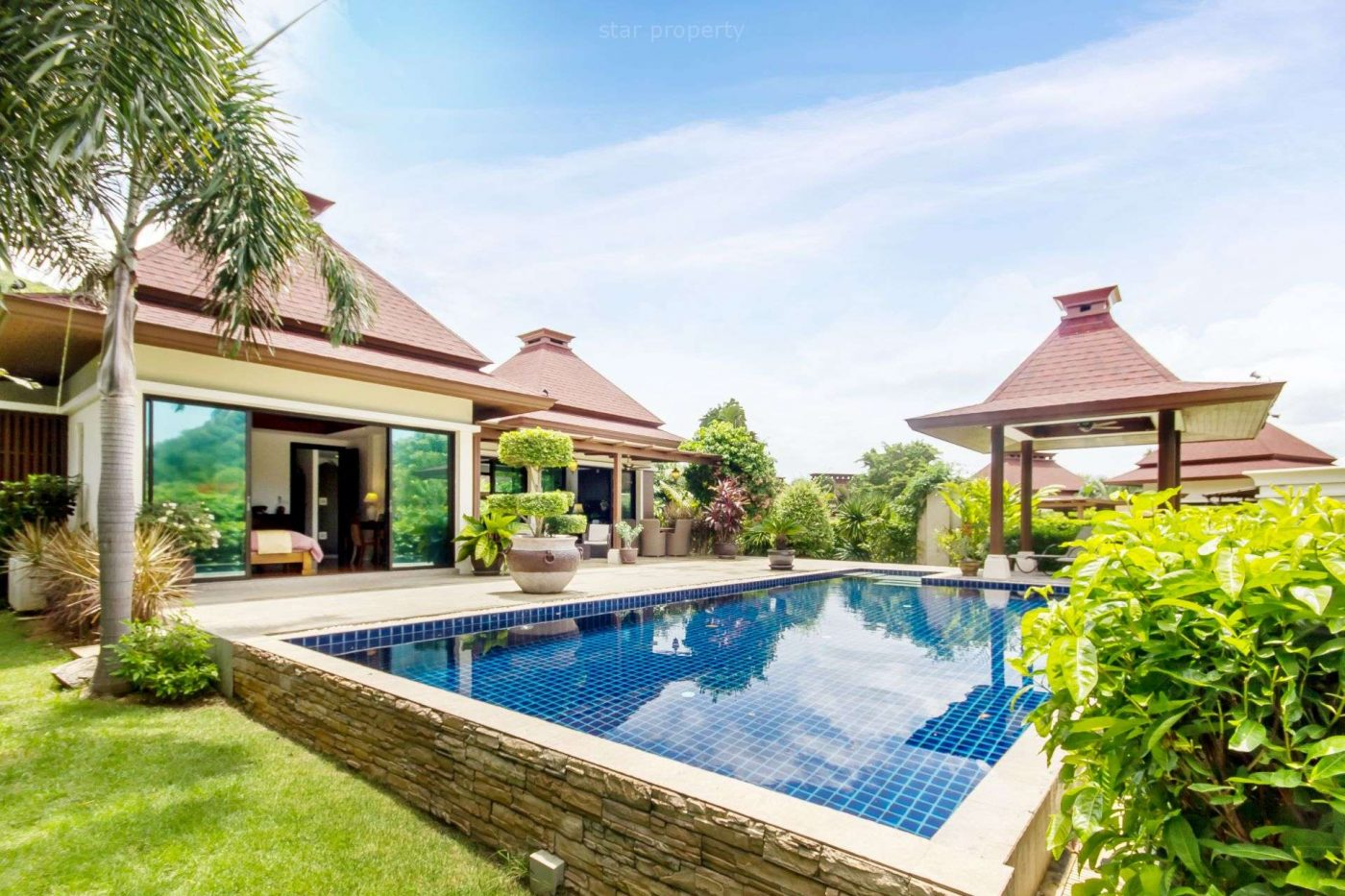 Luxury 2 Bedroom Pool Villa for Sale at The Panorama at Hua Hin District, Prachuap Khiri Khan, Thailand