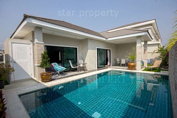 Modern 2 Bedroom Pool Villa For Sale Hua Hin Soi 70